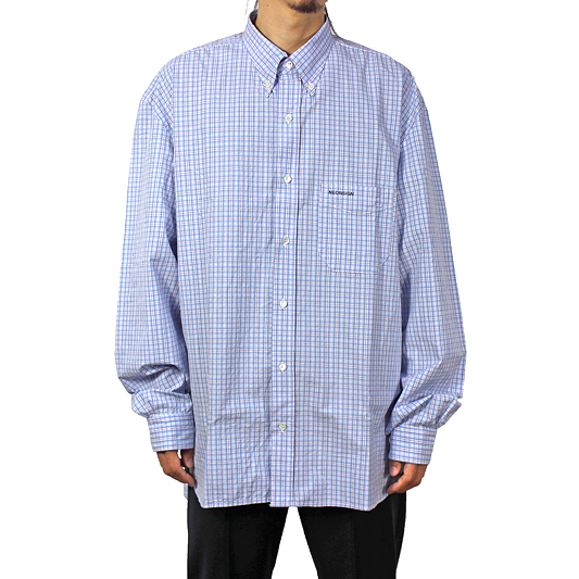 "NEON SIGN [ B.D WORK SHIRT ""BRIT CHECK"" ] BBL"