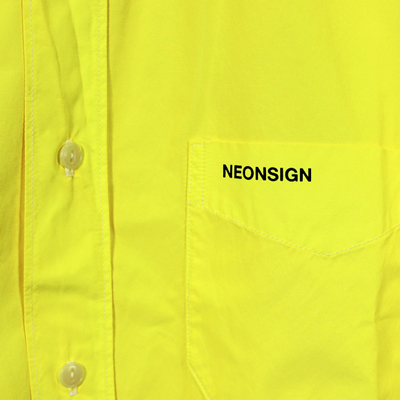 "NEON SIGN [ ARCHIVE #01 ""B.D.WORK SHIRT"" ] BYE"