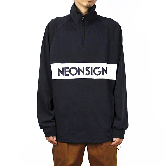 NEON SIGN [ ANORAK SWEAT ] BLK