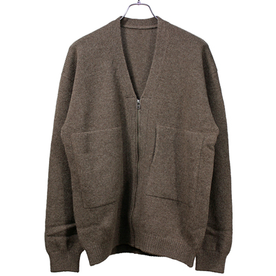 crepuscule [ wholegarment ZIP CD ] Brown