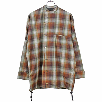 ESSAY [ DOLMAN SLANT SHIRT (SH-1) ] SHADOW CHECK
