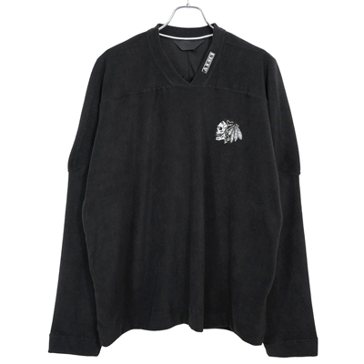 ESSAY [ SKULL FLEECE (TS-2) ] BLACK
