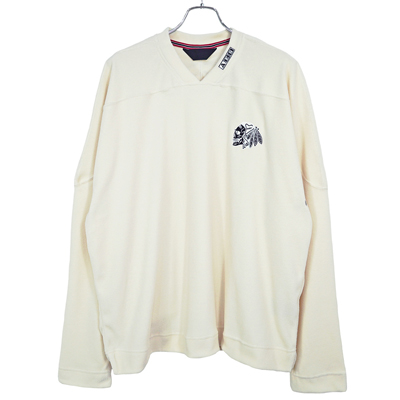 ESSAY [ SKULL FLEECE (TS-2) ] WHITE