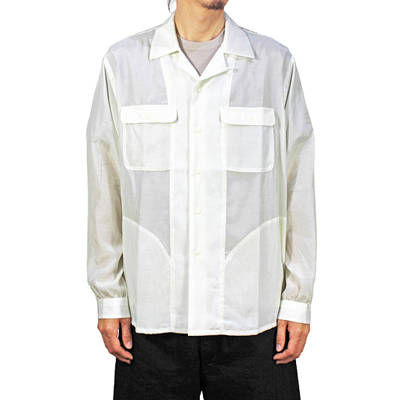 bukht [ OPEN COLLAR SHIRTS ] OFF WHITE