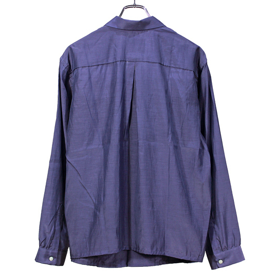 bukht [ OPEN COLLAR SHIRTS ] LIGHT PURPLE