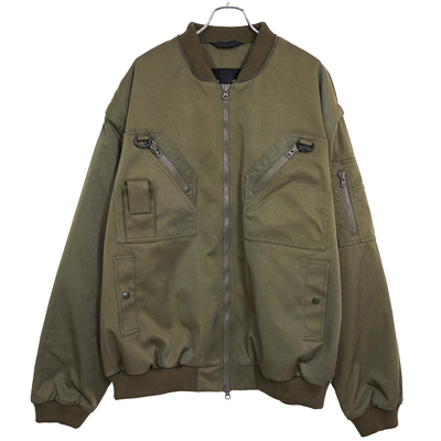 ESSAY [ BLUE COLOR BLOUSON (J-1) ] KHAKI
