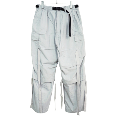 ESSAY [ MILITARY TECH PANTS (P-4) ] LIGHT GREY