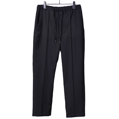 bukht [ PIN-TUCK EASY PANTS ] BLACK