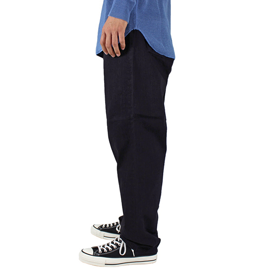bukht [ BIG DENIM PANTS/LONG-One Wash- ] OW/BLACK