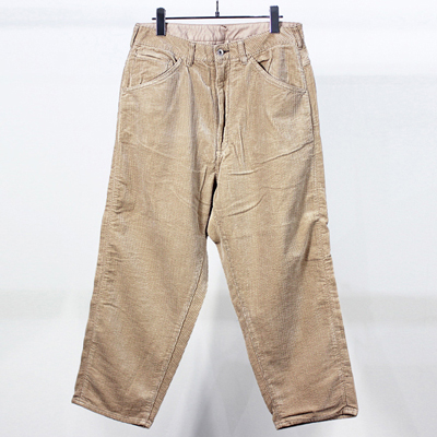 bukht [ BIG CORDUROY PANTS ] BEIGE