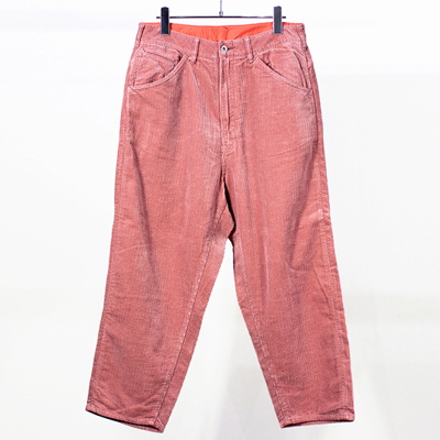 bukht [ BIG CORDUROY PANTS ] PINK