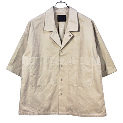 bukht [ WORK SHIRTS ] BEIGE