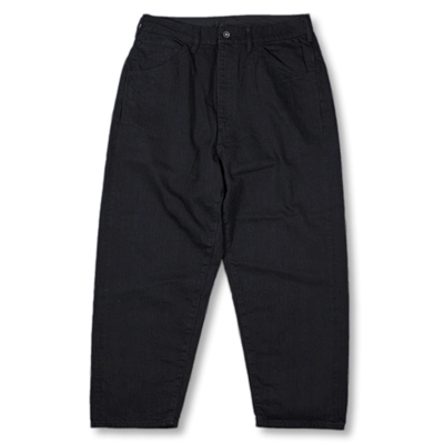 bukht [ BIG DENIM PANTS-One Wash- ] OW/BLACK