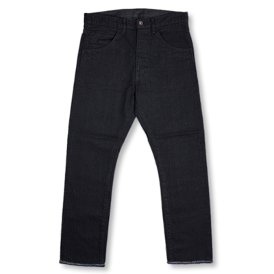 bukht [ BASIC 5P SLIM DENIM PANTS ] BLACK