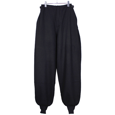 theSakaki [ Knickerbockers Wide ] Black