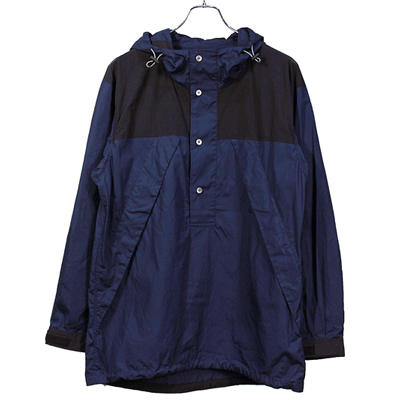 BLACK&BLUE [ Mountain P/O Parka ]