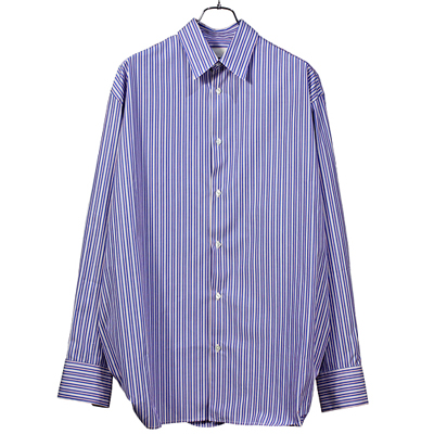 "NEON SIGN [ CONNECTORS SHIRT""MULTI STRIPE"" ] RD/BL"