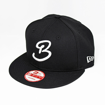 BLACK&BLUE [ キャップ(NEW ERA 9FIFTY) ] Black