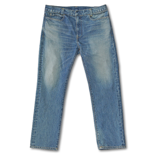 PUBLIC IMAGE [ Denim Pants ] Indigo