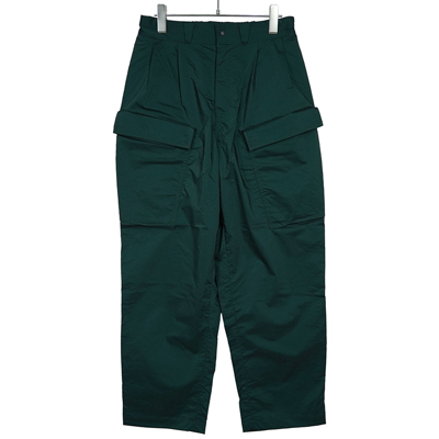 Sasquatchfabrix. [ NYLON MILITARY PANTS ] DARK GREEN