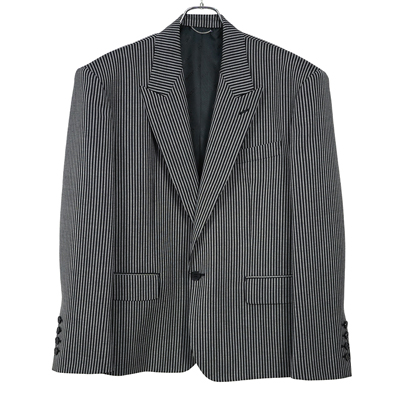 JOHN LAWRENCE SULLIVAN [ 1B PEAKED LAPEL JACKET ] BLACK