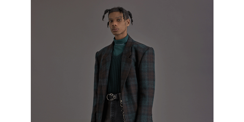 JOHN LAWRENCE SULLIVAN 18AW LOOK